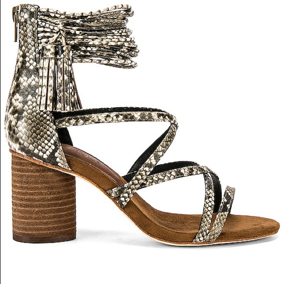 Jeffrey Campbell Shoes - Jeffrey Campbell Despina snake tassel ankle sandal